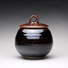 handmade ceramic jar lidded jar sugar bowl with by rmoralespottery