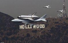 Last flight of Endeavour