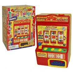 Super Slot Triple Thunder Mini Slot Machine | Overstock.com Shopping - Great Deals on Interactive Toys