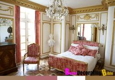 French Louis XVI Palace Bedroom
