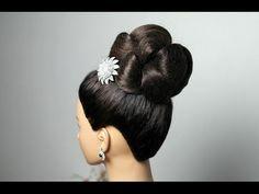 Wedding hairstyles for long hair. Updo hairstyles. Вечерняя прическа для длинных волос.