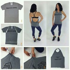 no sew shirts Diy Clothes No Sewing Tank Tops Old Shirts Best Ideas Diy Clothes Refashion, Diy Clothing, No Sew Tank, Diy Clothes Videos, Diy Gym Clothes, Diy Exercise Clothes, Sewing Clothes, Old Shirts, Old T Shirt Diy
