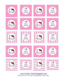 Hello Kitty Party Circles