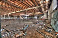derelict maltings lower floor low down #hdr #arthakker