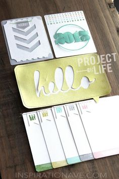 DIY Project Life Cards | Inspiration Ave.