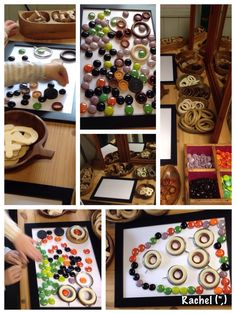 "Loose parts & frames from Rachel ("",)"