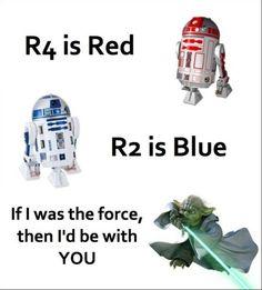 Star Wars Geek Love Poem (Perfect Valentine's Day poem!)