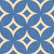 Precioso. I'd complete a full wall with this pattern in my house...