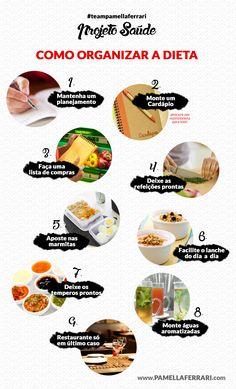 FITNESS| Como organizar a dieta?