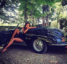 Page pcars and babes thread Porsche Technical Discussions Porsche Sports Car, Porsche Models, Porsche Cars, Porsche 356, Porsche Classic, Classic Cars, Sexy Cars, Hot Cars, Models Men