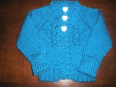 Baby sweater, Vickie Howell KAL, fall 2012