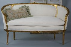 French Gilt Settee | Flickr - Photo Sharing!