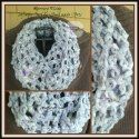 Mercury Rising Infinity Cowl by Home made hats via Saturday Link Party on Rebeckah's Treasures