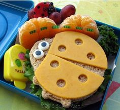 Can you imagine if your child opened their lunchbox to this?
