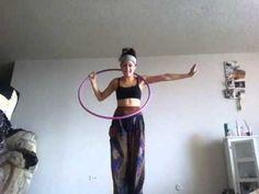 Dynamic Twist Hoop Tutorial - YouTube