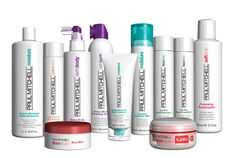 Paul Mitchell product rock. They work on all hair types and have a product available for every hair need