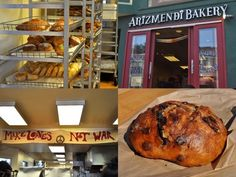"""Arizmendi Bakery will be suppling some amazing bread for our """"Just Food"""" event. We're excited!"""
