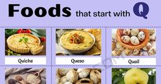 Food that Starts with Q: List of 10 Amazing Foods that Start with Q 1 Damson Plum, Oaxaca Cheese, White Cheese, Quiche Lorraine, Soft Foods, How To Make Cheese, Tex Mex, Food Lists, A Food