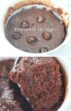 Search no more! Make this fudgy chocolate brownie in mug with 5 ingredients in 5 minutes. Super quick and easy chocolate fix for any time. Brownie in Mug – Microwave Recipe Generous amount for 1 person Ingredients 1/4 cup all-purpose flour (30g) 1/4 cup light brown sugar (50g) 2 tablespoons unsweetened cocoa powder 2tablespoons unsalted … … Continue reading →