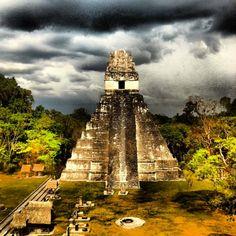 Latin America Impressions - Great Temple @ Tikal - Guatemala