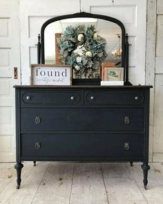 Best Outdoor Furniture Inspiration Home Furniture DIY Redo Furniture, Decor, Painted Furniture, Refurbished Furniture, Black Painted Furniture, Furniture, Home Furniture, White Furniture Living Room, Farmhouse Furniture