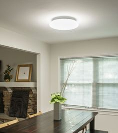 The Sunn Light promotes healthy living and creates vibrant spaces by continuously changing color and brightness in rhythm with the sun.