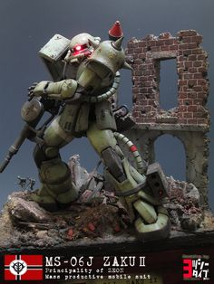 When you are addicted enough to see cool diorama in the world could also love the work of Battle in Rome Diorama by . A diorama. Gundam Toys, Gundam Art, Gundam Tutorial, Mecha Suit, Rome City, Gundam Wallpapers, Gundam Mobile Suit, Gundam Custom Build, Sci Fi Models