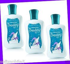 Love Frosted Snowberry lotion! <3
