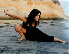 Shaolin Kung Fu - Diana Lee Inosanto. Daughter of Master Dan Inosanto (her god-father was the late Bruce Lee) http://en.wikipedia.org/wiki/Diana_Lee_Inosanto
