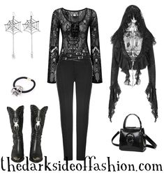 Nu Goth Fashion, Mori Fashion, Witch Fashion, Halloween Fashion, Rockabilly Fashion, Grunge Fashion, Alternative Outfits, Alternative Fashion, Victorian Fashion