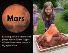 Mars Science Project for Solar System Unit for Kids Planets Activities, Solar System Activities, Space Activities For Kids, Science Activities, Science Experiments Kids, Science For Kids, Science Projects, Science Education, Preschool Science