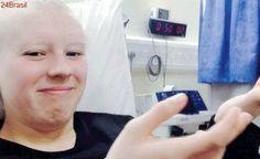 Jovem finge ter câncer e até raspa a cabeça para arrecadar dinheiro, diz instituição