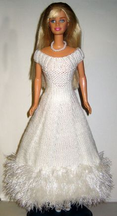 knit or crochet barbie clothes, lots of patterns and available f ex in english