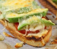 Meatless Monday: Cheesy Tomato and Avocado Toasts