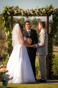 Heather & Zack's Wedding at Aliso VIejo Country Club #OrangeCountyWedding #AlisoViejoCountryClub #california #alisoviejo #ocwedding #outdoor #ceremony #brideandgroom #WendyChristinePhotography