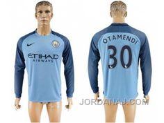 http://www.jordanaj.com/manchester-city-30-otamendi-home-long-sleeves-soccer-club-jersey.html MANCHESTER CITY #30 OTAMENDI HOME LONG SLEEVES SOCCER CLUB JERSEY Only $20.00 , Free Shipping!