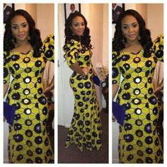 Hello ladies, here are some gorgeous ankara styles in various designs to inspire you. Ankara is very versatile and can definitely be combined with other lovely materials like silk, velvet… African Dresses For Women, African Print Dresses, African Print Fashion, Africa Fashion, African Attire, African Wear, African Women, African Prints, African Shop
