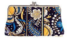 Vera Bradley Clutch Wallet in Ellie Blue Vera Bradley http://www.amazon.com/dp/B006WK81YO/ref=cm_sw_r_pi_dp_Cj-Yub0V4CP81