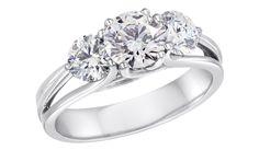 Lazare's Dahlia Engagement Ring