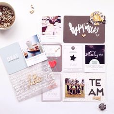 ➕ Hello. Project Life 2015   Week Thirty-two ➕ using up past @studio_calico kits while I patiently wait for my August kit ➕ #hellotodaycreatepl #projectlife #studiocalico #inmystudio #onmydesk #weekinthelife #witlday1 #hellotodaycreatewitl #planner #prettypaperartist