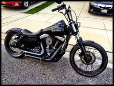 blacked out street bobs | Pic's of Blacked out Street Bob's please?? - Harley Davidson Forums