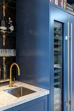 Brass Tap, Island Bench, Kitchen Taps, Marble Top, Kitchen Inspiration, Joinery, Hue, Kitchen Design, Satin