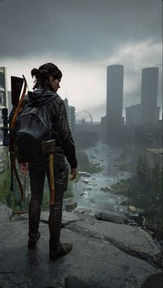 Apocalypse Aesthetic, Apocalypse Art, The Lest Of Us, Joel And Ellie, Edge Of The Universe, Post Apocalyptic Art, Last Of Us Remastered, Game Concept Art, Best Games