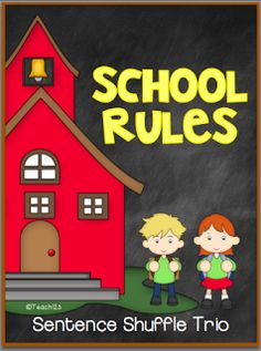 Reading level:  2nd grade School rules is a great addition to your back to school lesson plans. paid