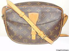 Authentic Vintage Louis Vuitton Monogram Cross Body Bag