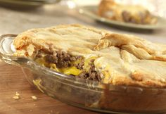 Cheesy Hamburger Pie | RecipeLion.com