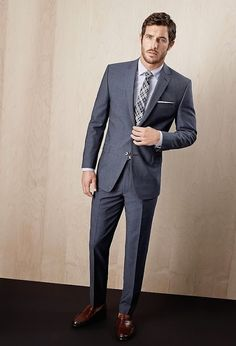 Summer 2014 - Justice Joslin for Simons Blazer Fashion, Mens Fashion Suits, Mens Suits, Men's Fashion, Fashion Design, Mode Masculine, Justice Joslin, Business Casual Attire, Professional Attire