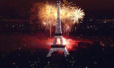 Paris in Celebration of Bastille Day