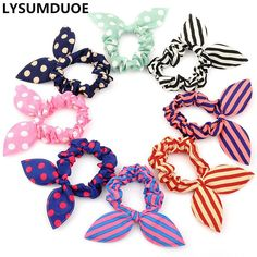 Frcolor Hair Elastics Hair Ties Ponytail Holders Hair Bands Hair  Accessories Random Color 20 Pieces     Read more at the image link. 6b4e3d9b4b4b