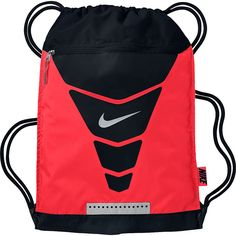 21eb8502e Nike Vapor Gymsack ($16) ❤ liked on Polyvore featuring bags, backpacks, red